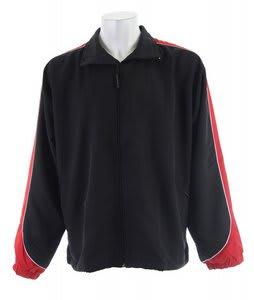 Stormtech Apollo Micro Twill Shell Jacket Black/Red