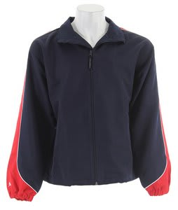 Stormtech Apollo Micro Twill Shell Jacket Navy/Red