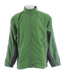 Stormtech Dry-Tech Team Track Jacket Kiwi/Ox Gray