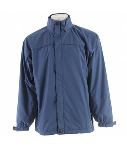 Stormtech Fleet Ripstop Rainshell Jacket Reverse Blue