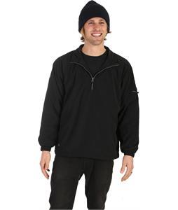 Stormtech Geos Micro L/S Windshirt Black