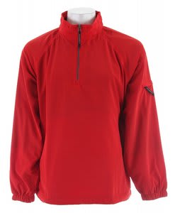 Stormtech Geos Micro L/S Windshirt Red