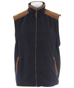 Stormtech Kootenay Suede Fleece Vest Navy