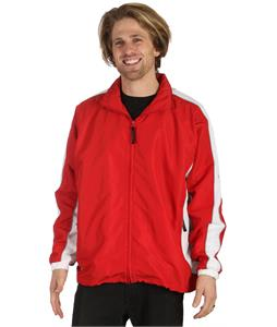 Stormtech Micro Jacquard Track Jacket Sport Red/White/Lt Gray