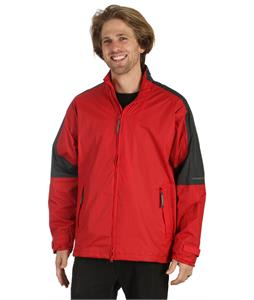 Stormtech Nautilus Packable Storm Jacket Red/Granite