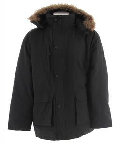 Stormtech Nordic Down Fill Parka Jacket Black
