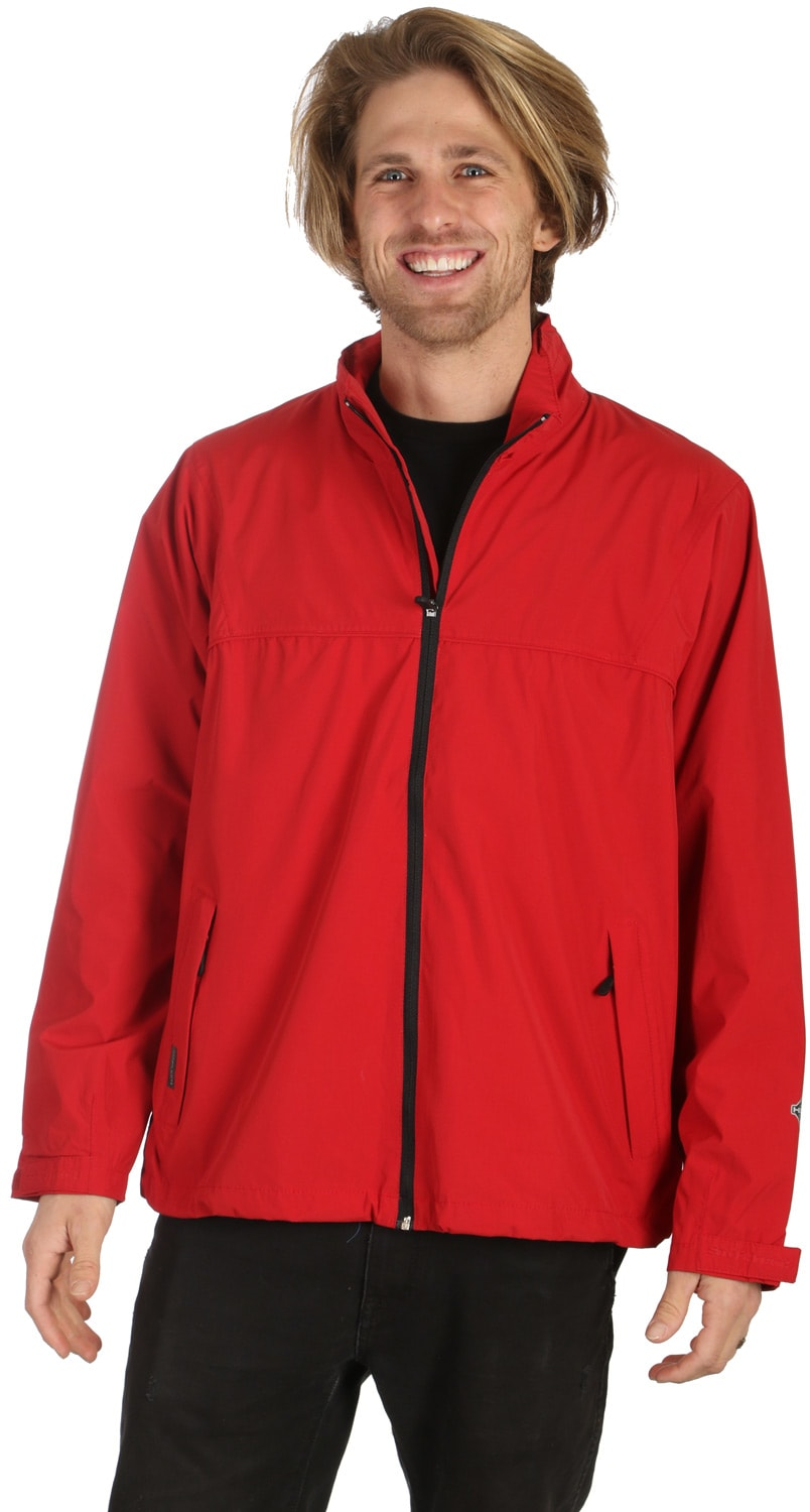 Shop for Stormtech Stratus Storm Rain Jacket Red/Black - Men's