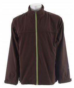 Stormtech Stratus Storm Rain Jacket Seal Brown/Peridot