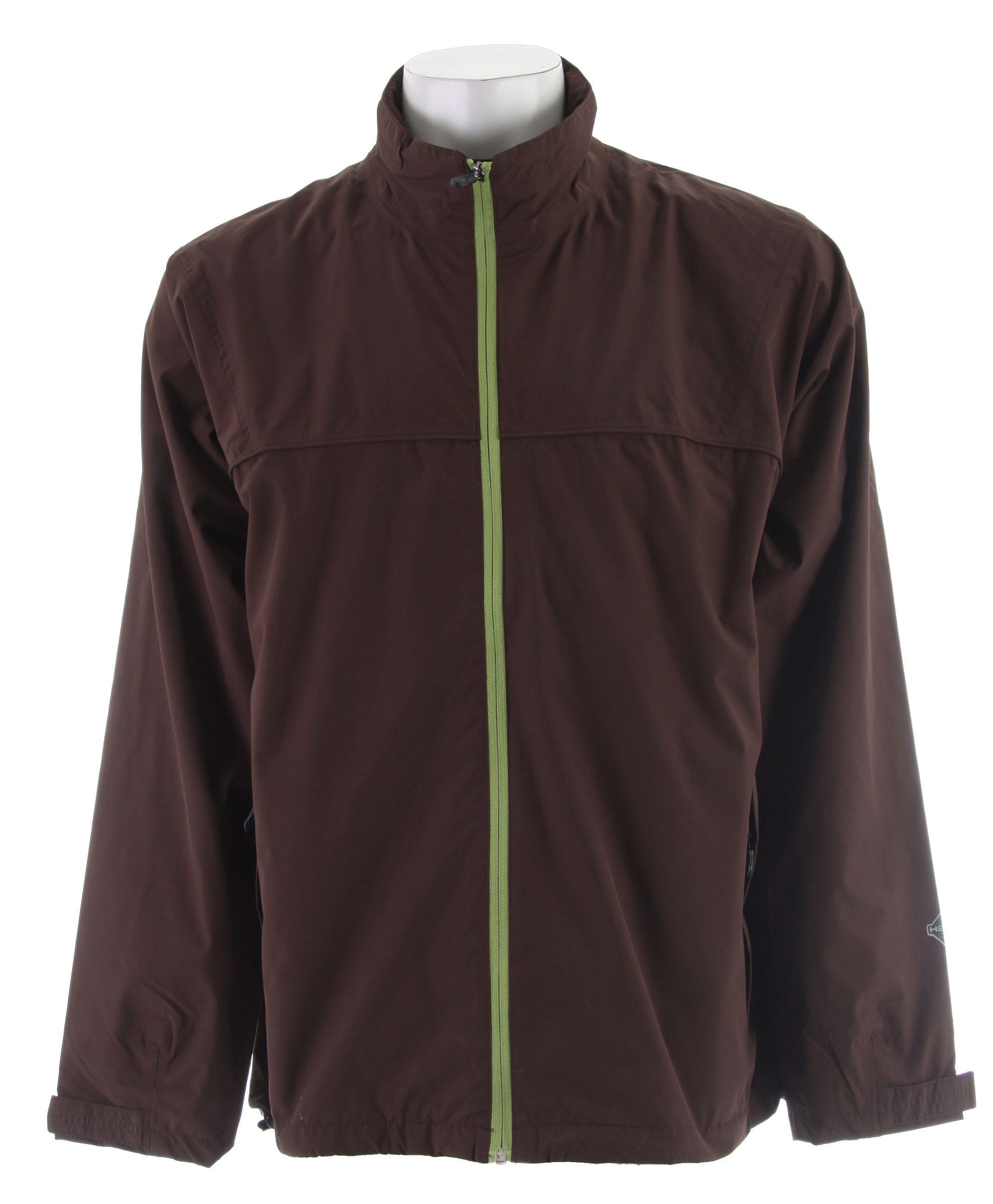 Shop for Stormtech Stratus Storm Rain Jacket Seal Brown/Peridot - Men's