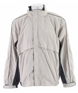Stormtech Trident Microflex Rainshell Jacket Birch/Granite