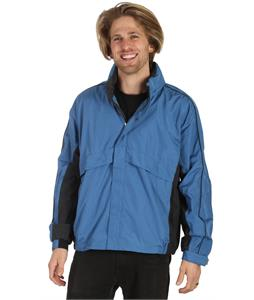 Stormtech Trident Microflex Rainshell Jacket Cool Blue/Granite
