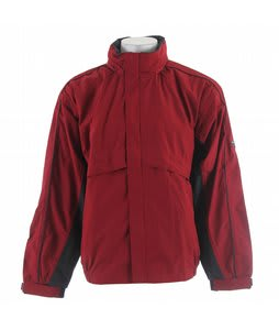 Stormtech Trident Microflex Rainshell Jacket Dark Crimson/Granite