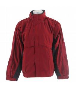 Stormtech Trident Microflex Rainshell Jacket Dark Crimson/Granite