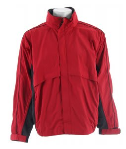 Stormtech Trident Microflex Rainshell Jacket Red/Granite