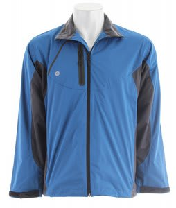 Stormtech Trident Microflex Storm Shell Jacket Cool Blue/Granite