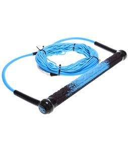 Straight Line Amoebatak w/ Dyneema Wakeboard Rope Combo Blue