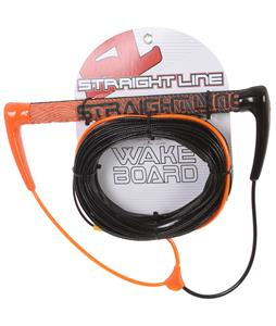 Straight Line Amoeba-Tak Handle w/ Flat Line Combo Orange/Black 85Ft