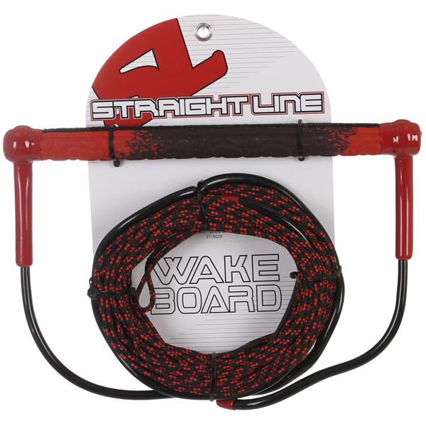 Straight Line Amoebatak Handle w/ Uline Line Combo Black/Red