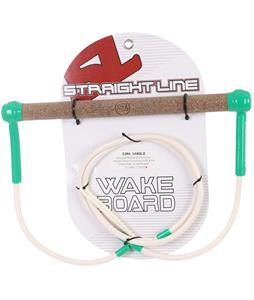 Straight Line Cork Green Wakeboard Handle