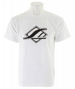Straight Line Corp Wake Logo T-Shirt White