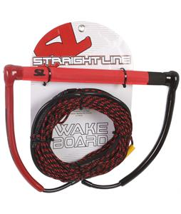 Straight Line Tryo Handle w/ Uline Line Combo Red