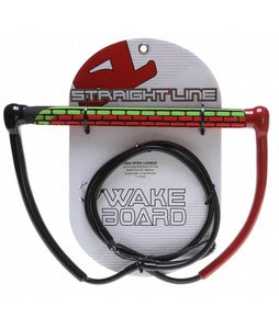 Straight Line Ugly Stick Wakeboard Handle Green/Red