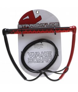 Straight Line Ugly Stick Wakeboard Handle Red