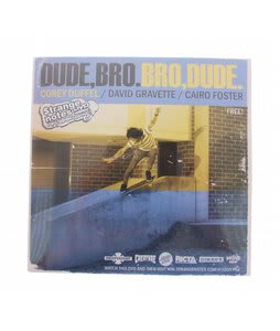 Strange Notes Dude Bro Skateboard DVD
