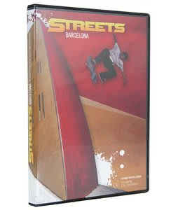 Streets Of Barcelona Skateboard DVD