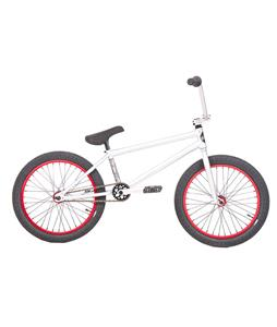 Subrosa Arum BMX Bike Matte Silver/Red 20in/20.5in Top Tube