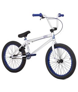 Subrosa Salvador BMX Bike Gloss Silver/Navy 20in/20.5in Top Tube
