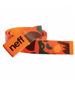 Neff Sucker Camo Belt Orange