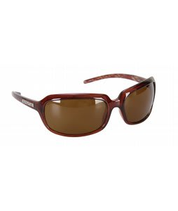 Suncloud Poppy Sunglasses Cola Backpaint/Brown Polarized