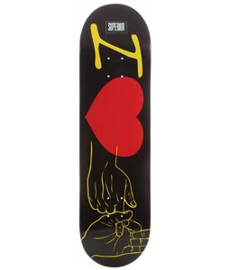 Superior I Heart This Skateboard Black 8.5
