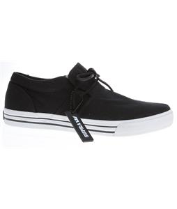 Supra Cuban Skate Shoes Black/White