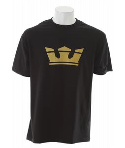 Supra Icon T-Shirt Black/Metallic Gold