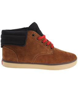 Supra Passion Boots Brown Suede/ Black/Red/Tan