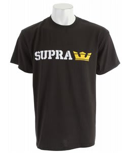 Supra Sidelock 2 T-Shirt Black