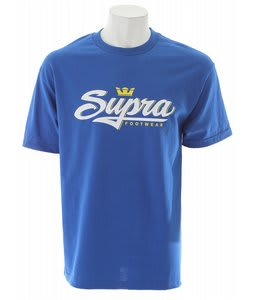 Supra Signature T-Shirt Royal