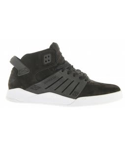 Supra Skytop III Skate Shoes Black Nubuck