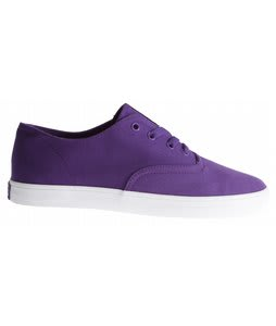 Supra Wrap Skate Shoes Purple Canvas