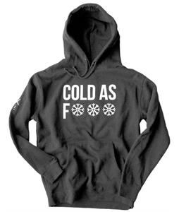 Surf Right Cold As Hoodie Black