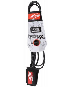 Surftech Bomber Leash Black 10' x 7mm
