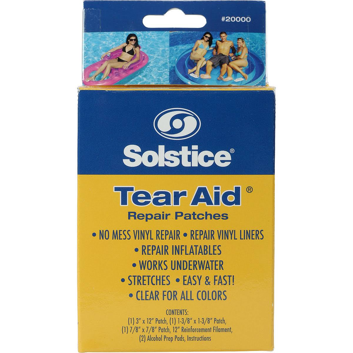 On Sale Swimline Tear Aid No Mess Vinyl Repair Kit Up To