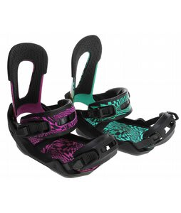 Switchback Eiki Pro Snowboard Bindings Powder White