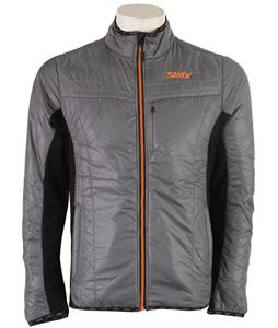 Swix Menali Quilted Cross Country Ski Jacket Griffin/Black
