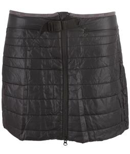 Swix Romsdal Quilted Skirt Black/Bright Fushia