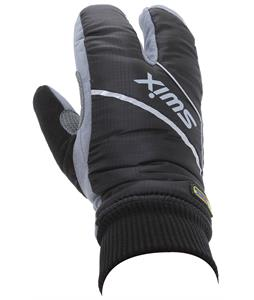 Swix Split Cross Country Ski Mittens Black