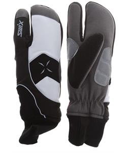 Swix Star X 100 Cross Country Ski Mittens White/Black