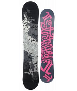 Technine Girls Series Snowboard Black/Silver 121